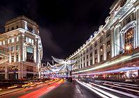 Christmas Lights in Regent Street, London, December 2016.jpg
