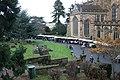 Christmas fair in the Priory churchyard - geograph.org.uk - 1598918.jpg