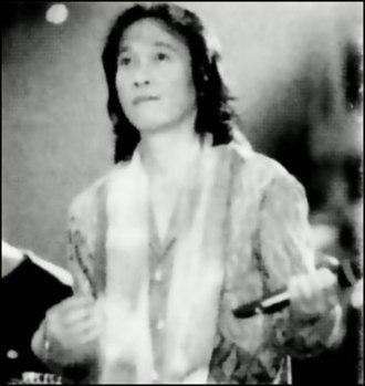 Chrisye - Chrisye during a concert