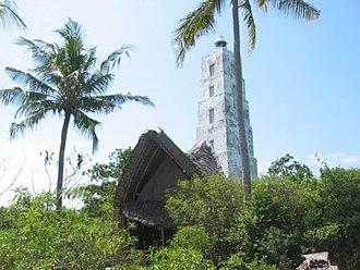 Chumbe Marine Park - Chumbe island coastal forest and beach