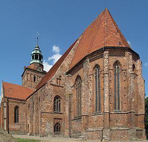 Ośno Lubuskie - Church of St. Jacob
