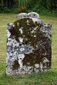 Church of St Peter and St Paul Upper Hardres Kent England - moss covered gravestone.jpg