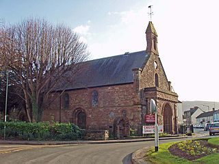 Church of St Thomas the Martyr, Monmouth Church in Monmouthshire, Wales