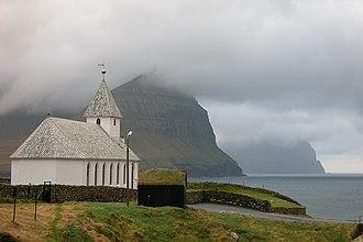 Religion in the Faroe Islands - Church of Viðareiði (built 1892)