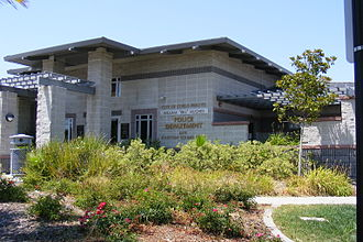 Citrus Heights, California - The CHPD offices near the city hall.