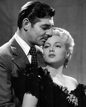Honky Tonk (1941 film) - Gable and Turner in publicity still for film.