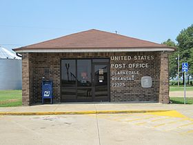 Clarkedale AR 09 USPS post office.jpg