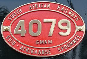 South African locomotive history - Image: Class GMAM 4079 (4 8 2+2 8 4) ID
