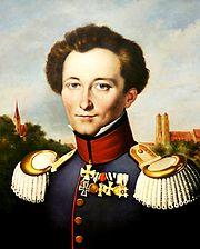 Carl von Clausewitz, painting by Karl Wilhelm Wach.