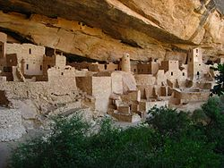 Cliff Palace - Mesa Verde National Park - Colorado, USA - 30 July 2010.jpg