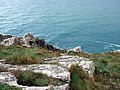 Cliffs at Carn Naun Point - geograph.org.uk - 99385.jpg