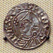 Coin of Cnut the Great, from the British Museum
