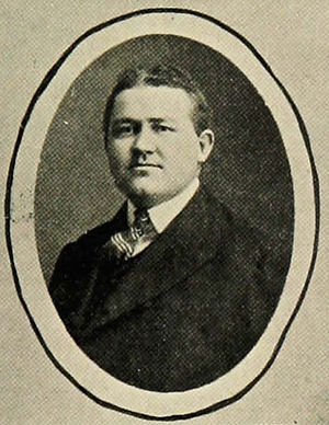 Emmett O. King - King pictured in The Prism 1906, Maine yearbook