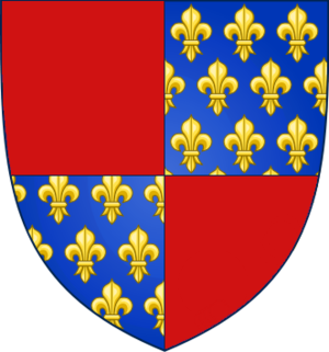 War of the Antiochene Succession - Image: Coat of Arms of Prince Bohémond VI of Antioch