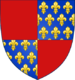 Coat of Arms of Prince Bohémond VI of Antioch.png