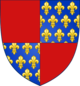 Coat of Arms of the House of Poitiers-Antioch