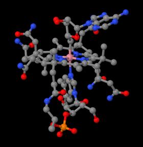 B12 molecular structure