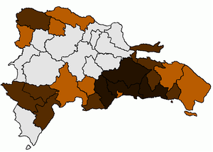 Afro-Dominicans - Dominican Republic's provinces where people of Antillean, Bahamian, and U.S. ancestry predominates.