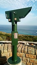 Coin-operated binocular at Cape of Good Hope (01).jpg