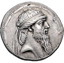 Munt van Artabanus I van Parthia (bijgesneden, deel 2), Seleucia mint.jpg