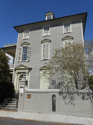 John Stuart (loyalist) - Col. Stuart lived at 106 Tradd St. in Charleston, South Carolina; his house is a National Historic Landmark.
