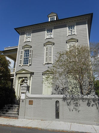 John Stuart (loyalist) - Col. Stuart lived at 106 Tradd St. in Charleston, South Carolina; his house is a National Historic Landmark.