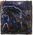 Colin Nouailher - Plaque - Abraham et Melchisédech (émail peint sur cuivre, Limoges, 1565-1570) - détouré.jpg