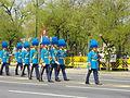 Colours guards of RTAFA in the royal funeral procession of Princess Bejaratana Rajasuda.JPG
