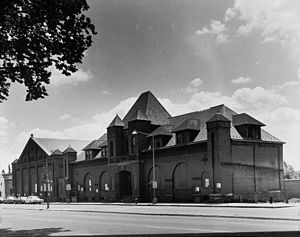 Columbia Railway - Image: Columbia Car barn