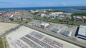 Suape Port - Image: Complexo Industrial e Portuário de Suape (photo 01)