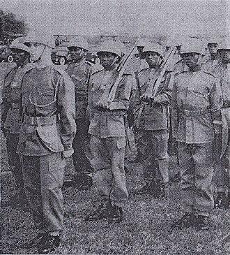 1960 Force Publique mutiny - Tompkins