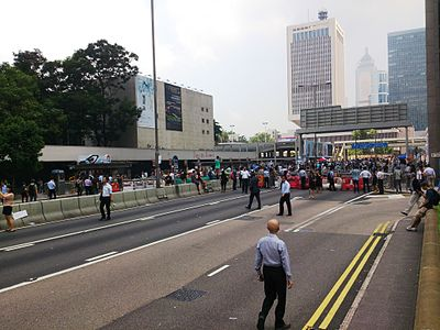 Connaught Road Central near Jackson Road on 2014-09-30.JPG