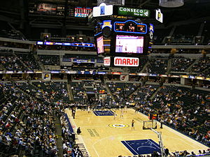 Bankers Life Fieldhouse - Image: Conseco fieldhouse seating bowl