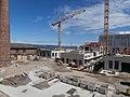Construction crane near Chimney of Non-ferrous metal Foundry in Tallinn 18 July 2017.jpg