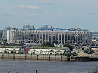 Construction of Nizhny Novgorod Stadium