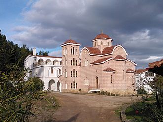 Afidnes - Monastery of Holy Angels in Afidnes
