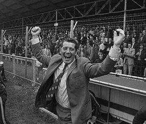 Cor van der Hart - Cor van der Hart as a coach in 1972