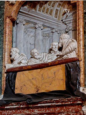 Ecstasy of Saint Teresa - Image: Cornaro SM della Vittoria