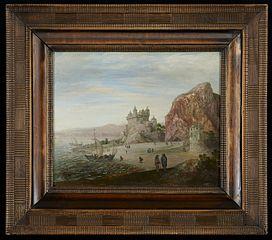 Coastal Landscape with Granite Cliffs