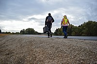 Corps completes new paved setback levee in West Sacramento (14963245344).jpg