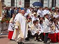 Corpus Christi Mass and Procession in Sanok 2009 2.JPG