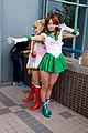 Cosplays of Sailor Jupiter and Sailor Moon, Sailor Moon at CWT41 20151212.jpg
