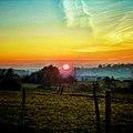 Coucher du soleil - zonsondergang ardennen - panoramio.jpg