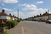 Council houses in Chatteris, Cambridgeshire
