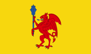 Flag of Somerset - Somerset Council Armorial Banner