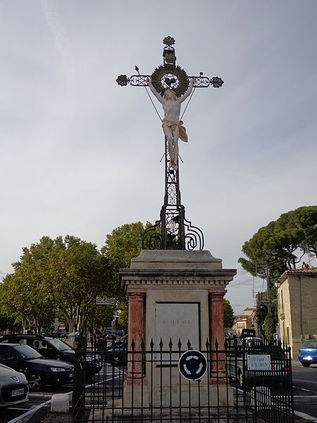 Cournonterral (Hérault) - croix (8/9/1818).