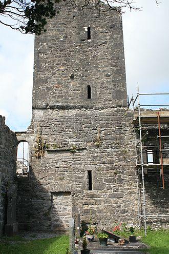 Creevelea Abbey - Image: Creevelea Friary Tower S 2007 08 16