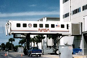Mobile lounge - Image: Crew Transport Vehicle at Baseline Data Collection Facility