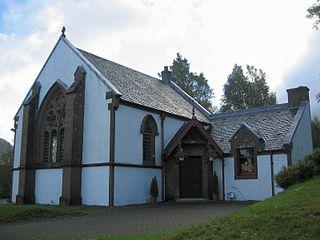 Crianlarich village in Stirling, Scotland, UK