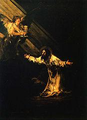Christ au jardin des oliviers